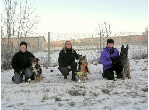 BBHK:s decembertävling 13 december 2015